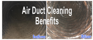 What are some benefits of air duct cleaning?
