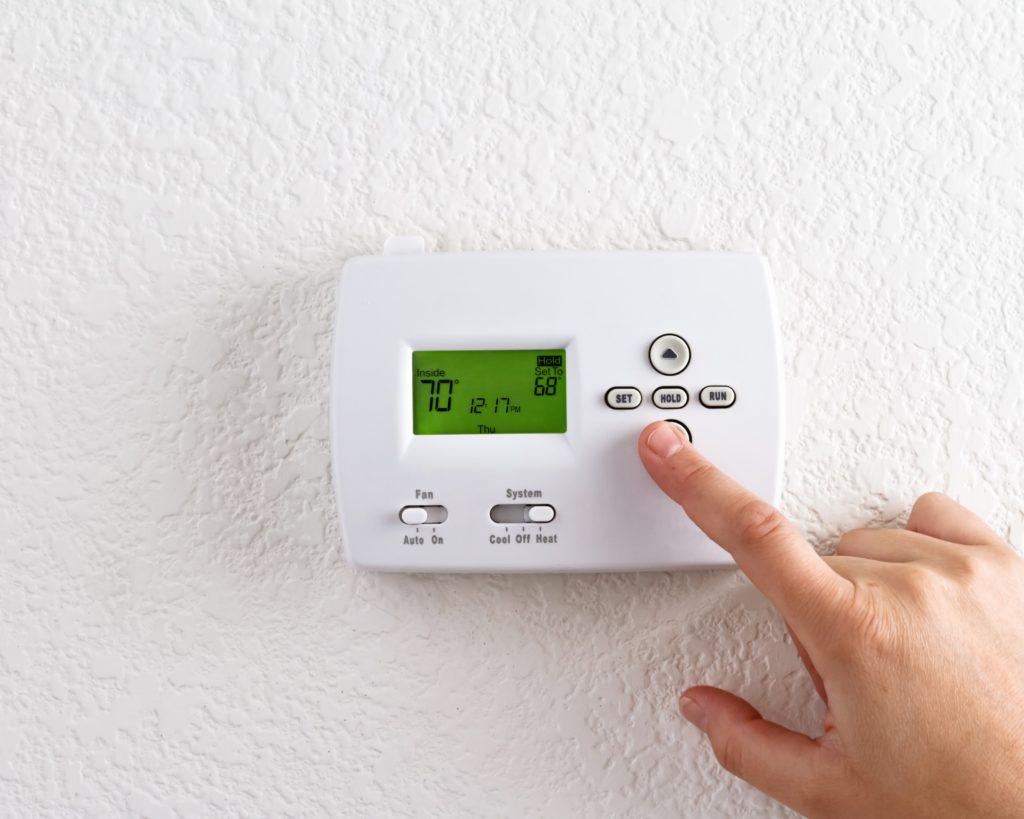 HVAC thermostat