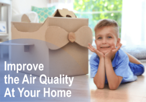 Improve the air quality at your home