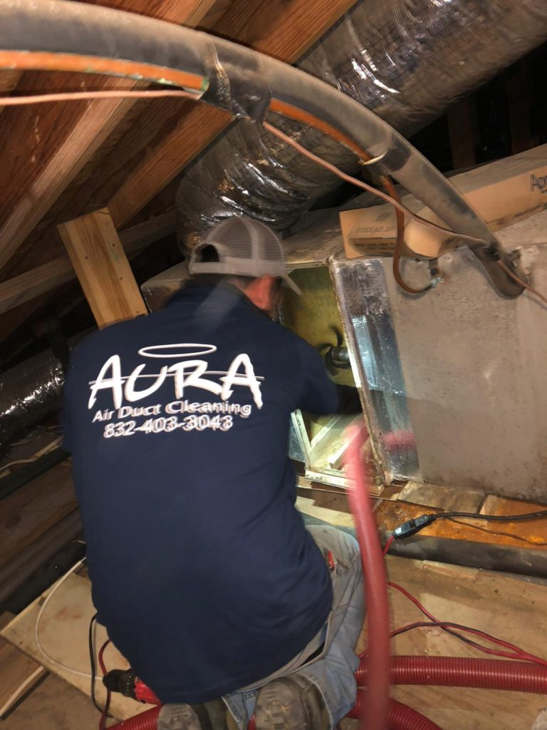 Air duct Cleaning in the Attic