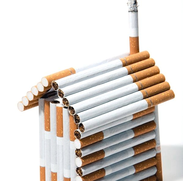 Nicotine Tar in Air Ducts and Cigarette Smoke Smell